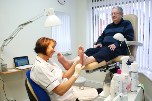Treatment for all kinds of foot problems at Heswall Chiropody on the Wirral